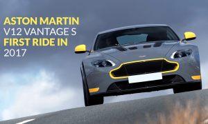Aston Martin V12 Vantage S First Ride In 2017