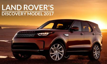 Land Rover's Discovery Model 2017