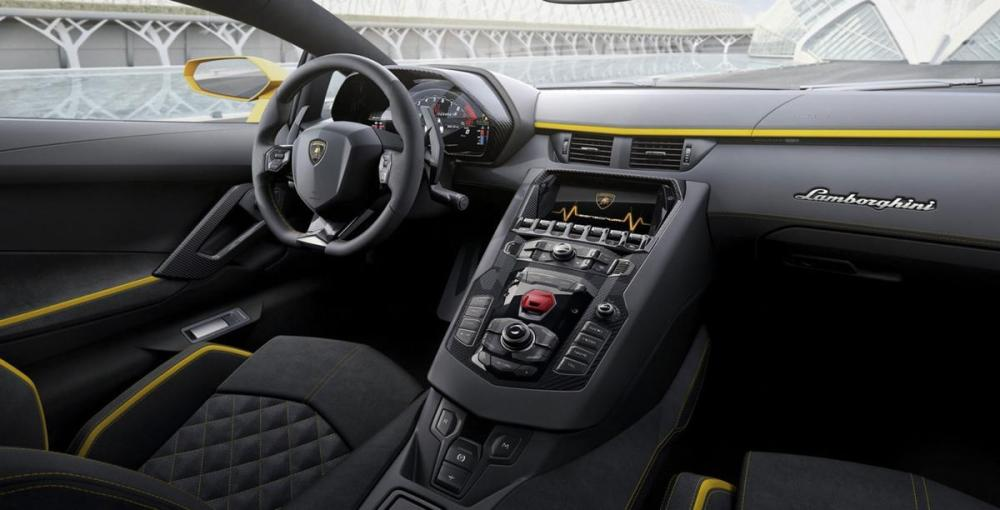 New Lamborghini Aventador S Model 2017
