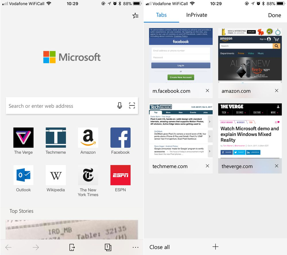 Microsoft Edge Is Now Available For Android Users You can Download From Google Play