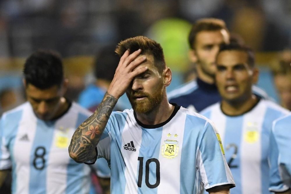 Peru Draw Leaves Argentina In Danger Of Missing 2018 World Cup