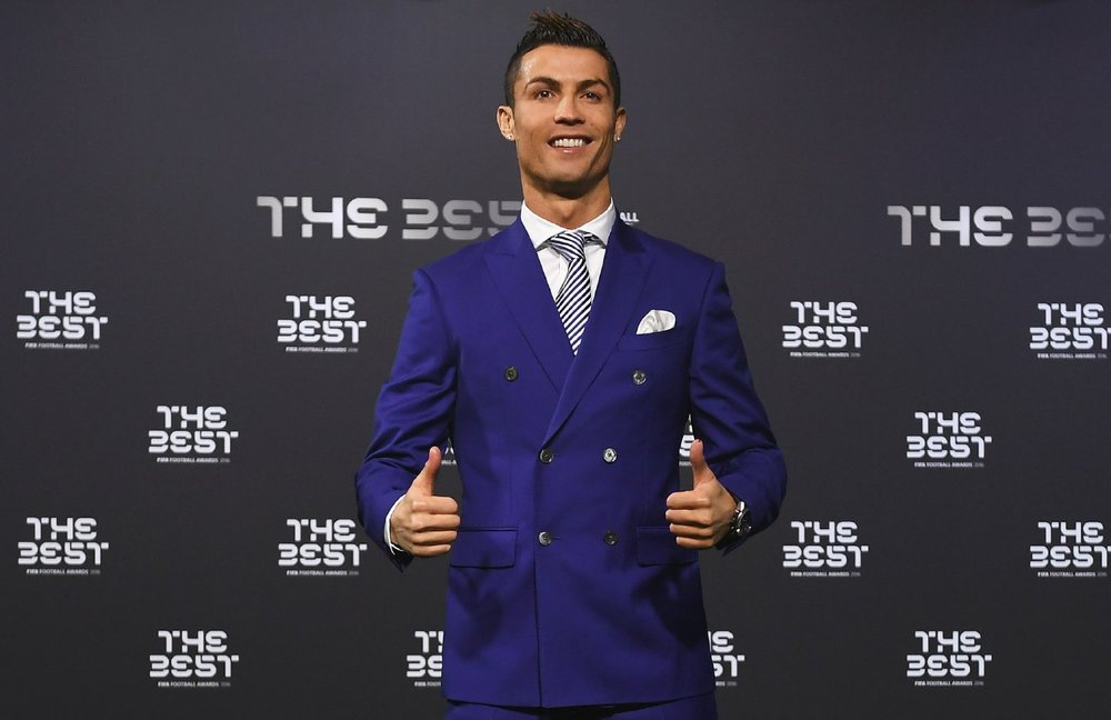 Ronaldo Cristiano Won FIFA Player Of The Year Award