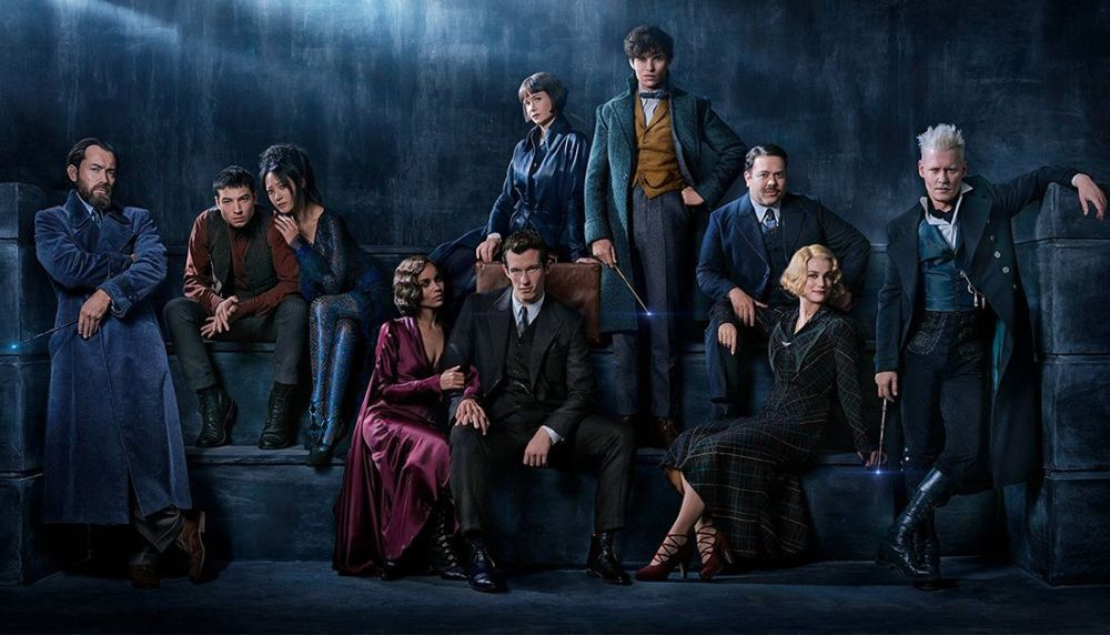 Fantastic Beasts Sequel Reveals Its Official Title And First Look Of Young Dumbledore ebuddynews