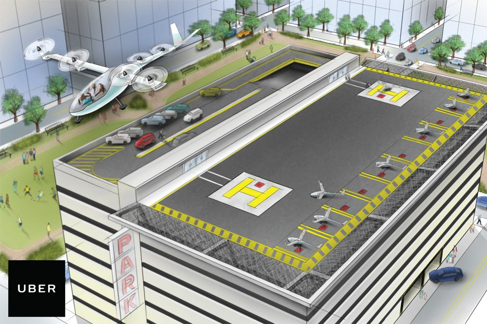 Uber Set a Deal With NASA To Develop a Program To Control Flying Taxi ebuddynews
