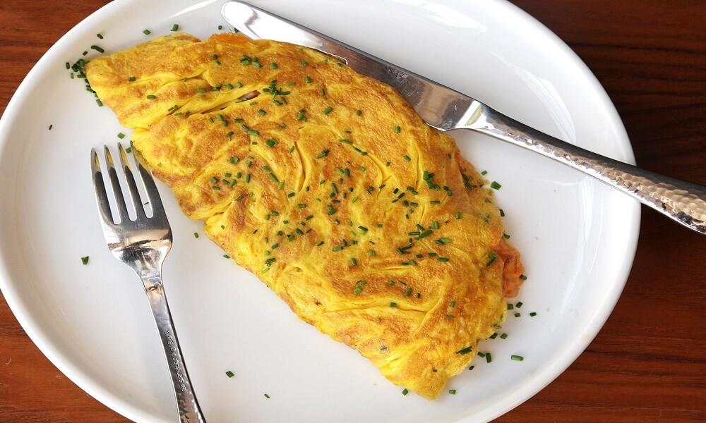 Vegetable Omelet Sauteed with Ham - eBuddy News