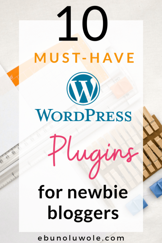 10 Must-Have WordPress Plugins for Beginners