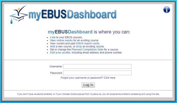 EBUS Dashboard