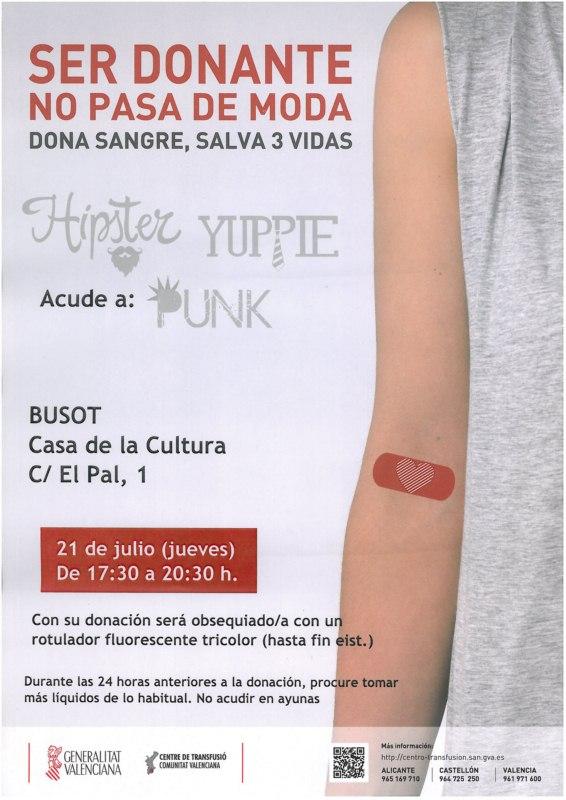 Dona Sangre Busot julio 2016