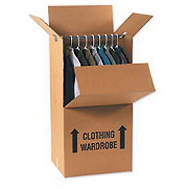 Corrugated Boxes Amp Cartons Corrugated Boxes Moving Amp Specialty 24 Wardrobe Box Hanger Bar