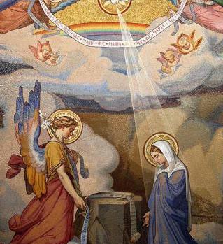 Annonce faite à Marie par l'ange Gabriel 2