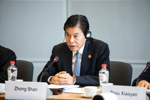 Image result for zhong shan minister