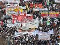 Protests in Athens ©AFP Belga