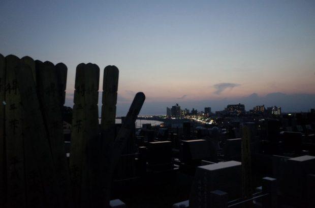 晩夏の江の島