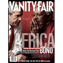 Vanity Fair July 2007 Africa Issue, Bush/Tutu Cover
