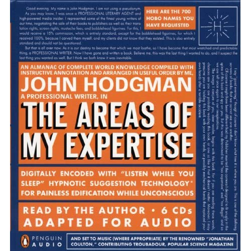 Areas of My Expertise Audio Edition
