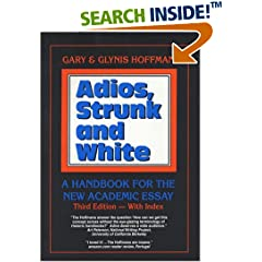 Gary & Glynis Hoffman: Adios, Strunk and White