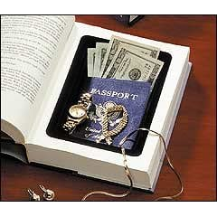 A book safe available on Amazon