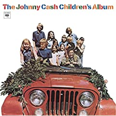 johnny cash on a tractor w/kids