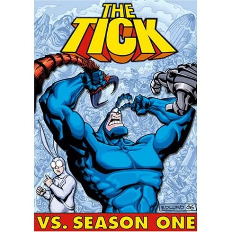 The Tick vs. Season One Box Art