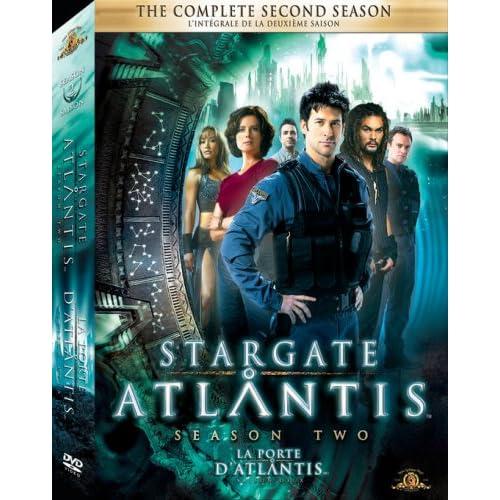 Stargate Atlantis - The Complete Second Season Box Art