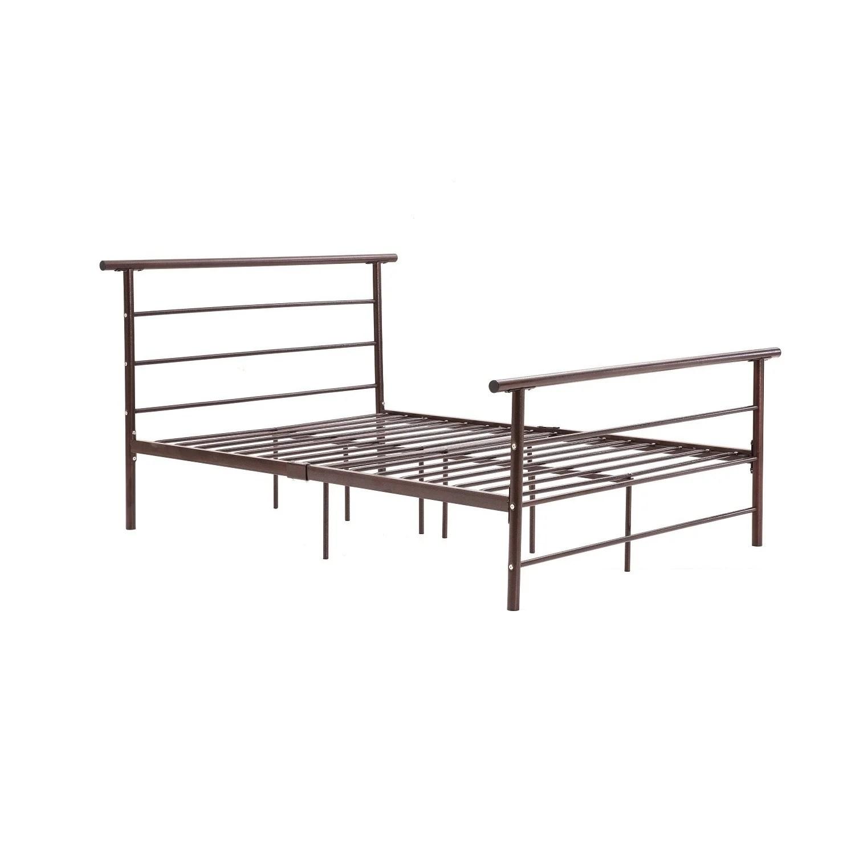Pinstripe Car Twin Bed