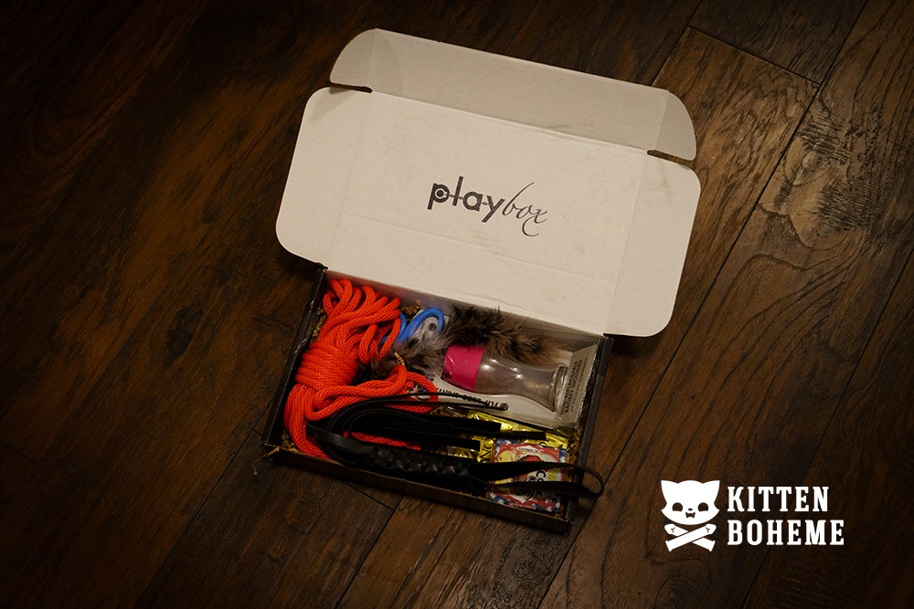 PlayBox BDSM Gift Set Sex Toy Review by KittenBoheme.com