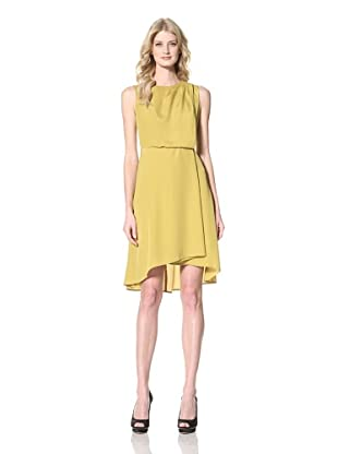 Vince Camuto Dresses Women's Sleeveless Dress (Golden Palm)