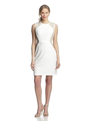 Julia Jordan Women's Colorblock Sleeveless Dress (Ivory/Off-White)