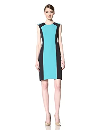 Chetta B Women's Colorblock Dress (Navy Jade)