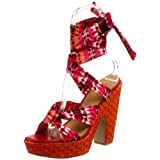 Nine West Adored Ankle-Wrap Sandal