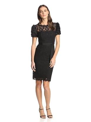 NUE by Shani Women's Lace Dress (Black)