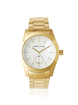 Kenneth Jay Lane Women's 2306B 2300 Series MOP Gold Ion-Plated Watch