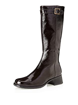 La Canadienne Women's Rihanna Winter Boot (Brown Patent)