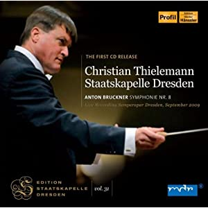 ブルックナー:交響曲第8番ハ短調 WAB.108(ハース版) (Bruckner : Symphony No.8 / Christian Thielemann, Staatskapelle Dresden (2009 live)) [2 SACD Hybrid]