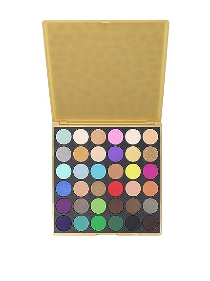 36 matte leopard palette bh cosmetics my habit coastal scents celia makeup