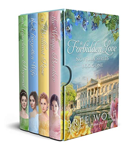 A Forbidden Love Novella Series Box Set One: Four Novellas in One Book Wolf, Bree