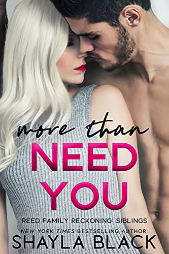 More Than Need You (More Than Words Book 2) Black, Shayla
