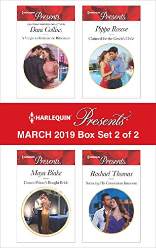Harlequin Presents - March 2019 - Box Set 2 of 2 Anthology