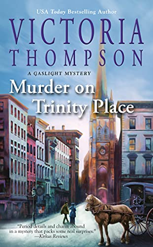 Murder on Trinity Place (A Gaslight Mystery Book 22)   Victoria Thompson