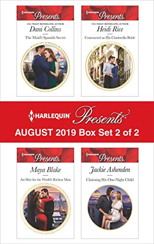 Harlequin Presents - August 2019 - Box Set 2 of 2 Dani Collins, Maya Blake, Heidi Rice, Jackie Ashenden