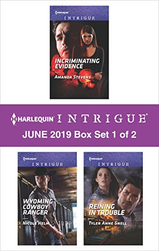 Harlequin Intrigue June 2019 - Box Set 1 of 2  Amanda Stevens, Nicole Helm, Tyler Anne Snell