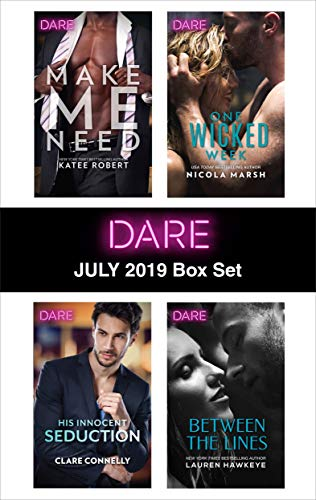 Harlequin Dare July 2019 Box Set  Katee Robert, Clare Connelly, Nicola Marsh, Lauren Hawkeye
