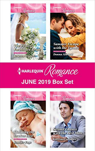 Harlequin Romance June 2019 Box Set  Rebecca Winters, Donna Alward, Jennifer Faye, Katrina Cudmore