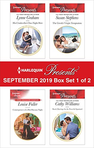 Harlequin Presents - September 2019 - Box Set 1 of 2 Lynne Graham, Louise Fuller, Susan Stephens, Cathy Williams