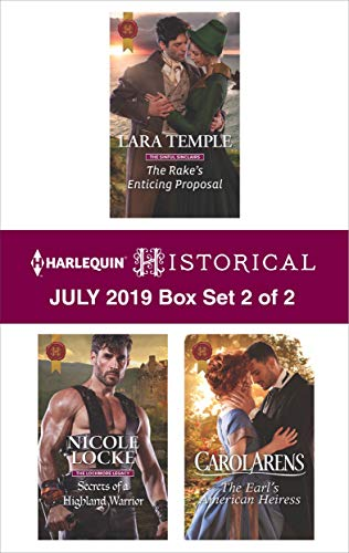 Harlequin Historical July 2019 - Box Set 2 of 2  Lara Temple, Nicole Locke, Carol Arens