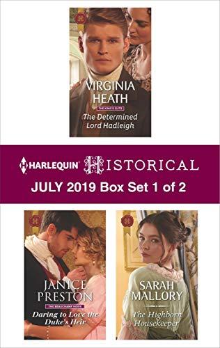 Harlequin Historical July 2019 - Box Set 1 of 2  Virginia Heath, Janice Preston, Sarah Mallory