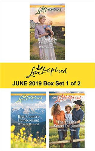 Harlequin Love Inspired June 2019 - Box Set 1 of 2: An Anthology  Rebecca Kertz, Roxanne Rustan, Jolene Navarro