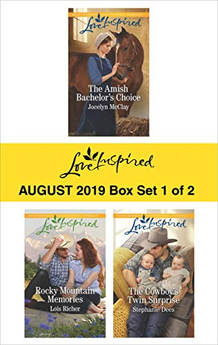 Harlequin Love Inspired August 2019 - Box Set 1 of 2: An Anthology  Jocelyn McClay, Lois Richer, Stephanie Dees