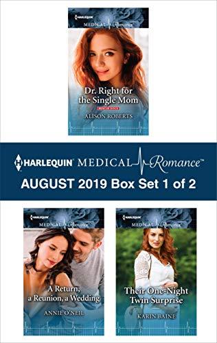 Harlequin Medical Romance August 2019 - Box Set 1 of 2  Alison Roberts, Annie O'Neil, Karin Baine