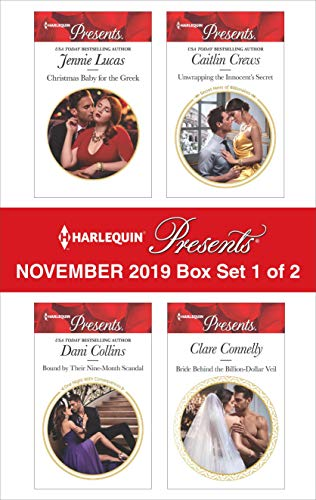 Harlequin Presents - November 2019 - Box Set 1 of 2 Jennie Lucas, Dani Collins, Caitlin Crews, Clare Connelly